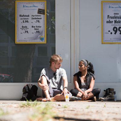 Katja Böhm Fotostory auf der Straße