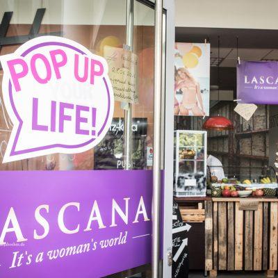 Blogger-Event Kenya Kinski-Jones und Ann-Kathrin Brömmel bei Lascana