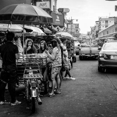 Khao San Road in Bangkok by Katja Boehm