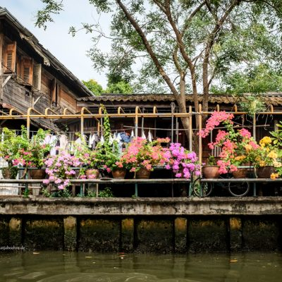 Mit dem Flusstaxi durch Bangkok by Katja Boehm