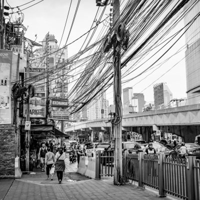 Streets in Bangkok by Katja Boehm