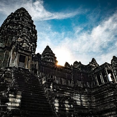 Tempel Angkor Wat Kambodscha by Katja Böhm