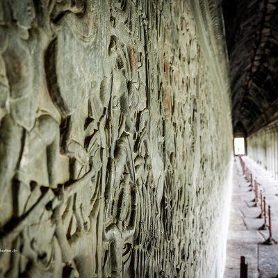Tempel Angkor Wat Kambodscha by Katja Boehm