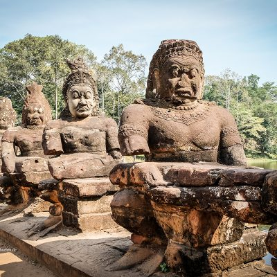 Tempel Angkor Wat in Kambodscha von Katja Böhm