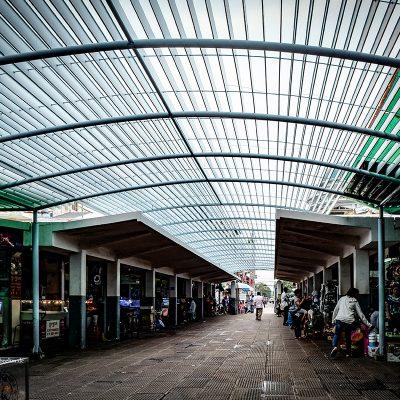 Market Phom Penh Kambodscha von Katja Boehm