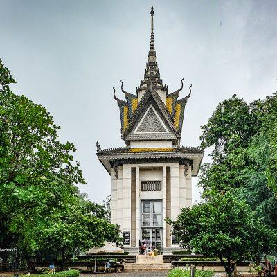 Killing Fields Phnom Penh Kambodscha by Katja Boehm