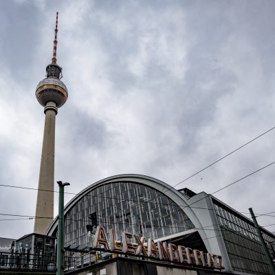 Alexanderplatz in Berlin by Katja Böhm