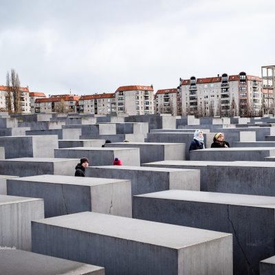 Holocaust Denkmal in Berlin by Katja Böhm