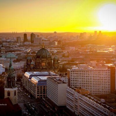 Über den Dächern von Berlin by Katja Böhm