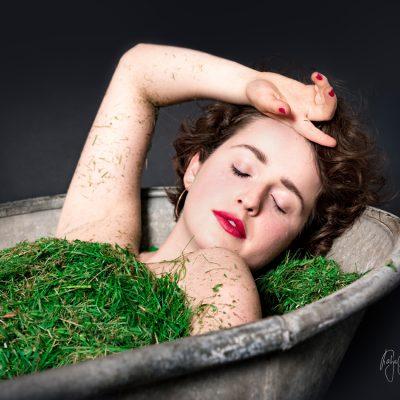 Ich würde so gern in Rasen baden by Katja Böhm