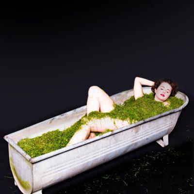 Ein Bad in Rasen