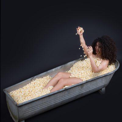 Ich würde so gern in Popkorn baden by Katja Böhm