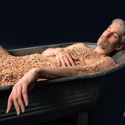 Ich würde so gern in Sägespäne baden by Katja Böhm