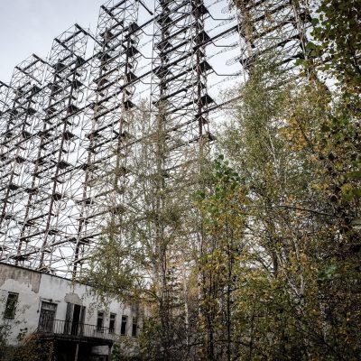 Radar Duga-1 Chernobyl by Katja Böhm