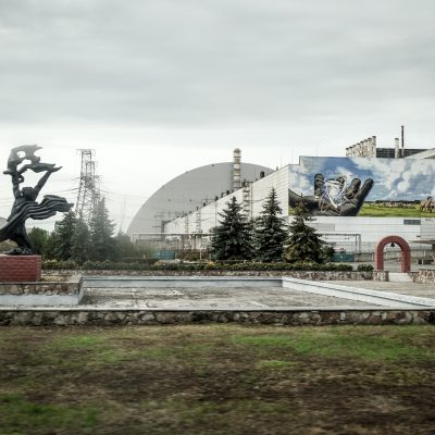 Reactor 4 in Chernobyl by Katja Böhm